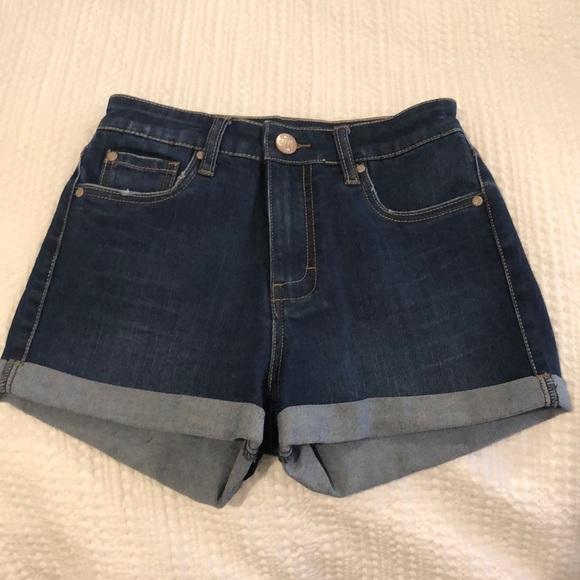 STS Blue Pants - High waist jean shorts